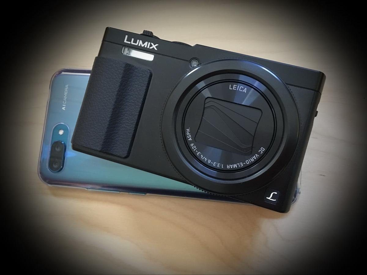 Das doppelte Lottchen – Honor 10 und Panasonic Lumix TZ 71 in der Fotografie und ein bißchen Apple