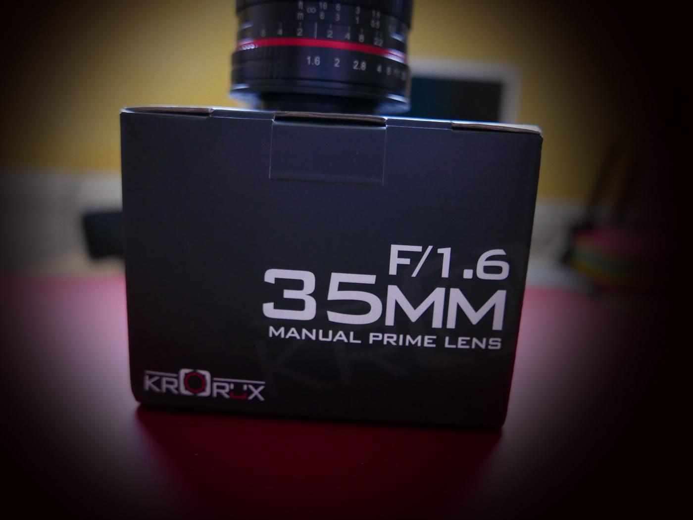 Manuell Flanieren mit dem Krorux 35mm F1.6 MFT an der Lumix GF 7