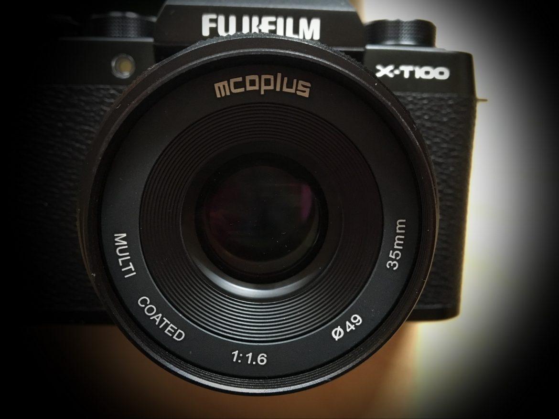 MCOplus 35mm F1.6 an der Fuji X-T100